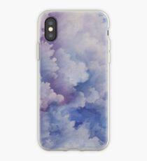 Watercolour Storm Clouds iPhone Case