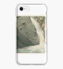 George Romney  A Waterfall iPhone Case/Skin