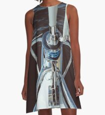 Sailing proud in the sun A-Line Dress
