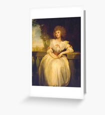 George Romney  Mrs Mark Currie, Greeting Card