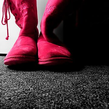 Pink Boots by gunter