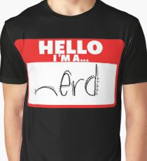Nerd Graphic T-Shirt