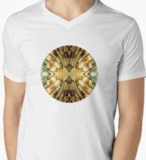Natures Pattern Men's V-Neck T-Shirt