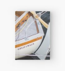 Classic boating Hardcover Journal