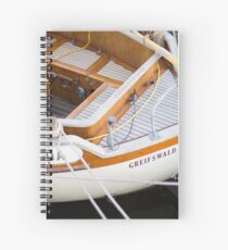 Classic boating Spiral Notebook