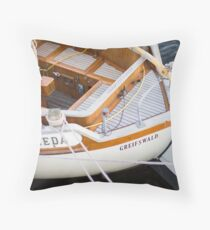 Classic boating Throw Pillow