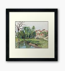 Georges Charles Robin,  Collioure, Franc Framed Print