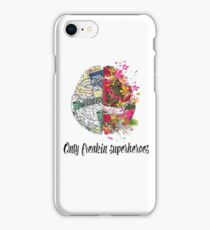 AMELIA SHEPHERD QUOTE AND BRAIN iPhone Case/Skin