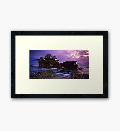 Tanah Lot, Bali Framed Print