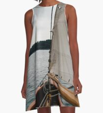 Out upon the waters A-Line Dress