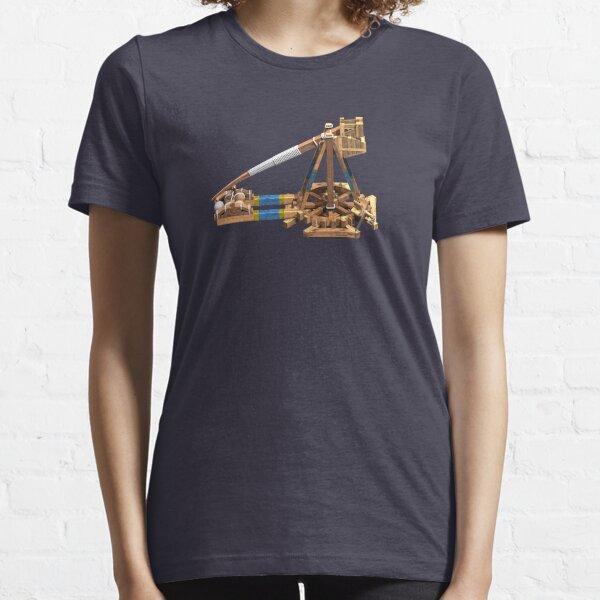 Renderizado de trebuchet Camiseta esencial