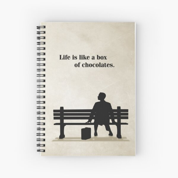 Master Gump Spiral Notebook
