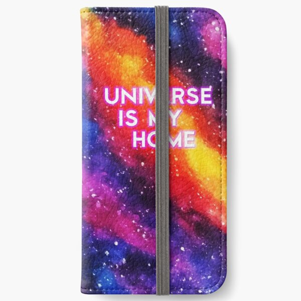Universe is My Home iPhone Wallet