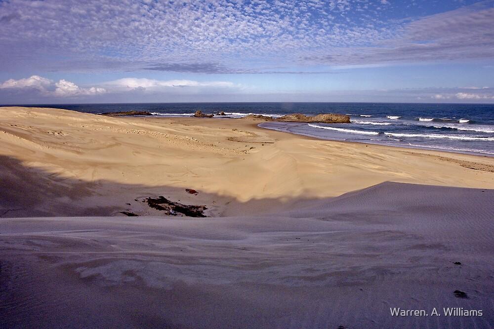 Sandy Beach by Warren. A. Williams