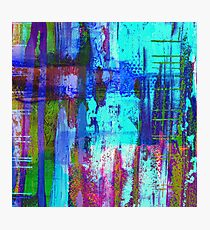 Electric Abstract Photographic Print