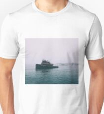 On the misty seas T-Shirt