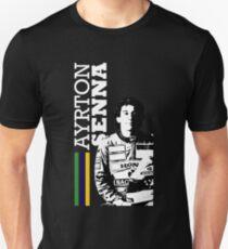 Ayrton Senna Brazil - D Unisex T-Shirt