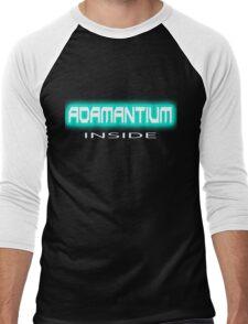 Adamantium, it makes Logan, Wolverine so strong Xmen (Marvel comics) Men's Baseball ¾ T-Shirt