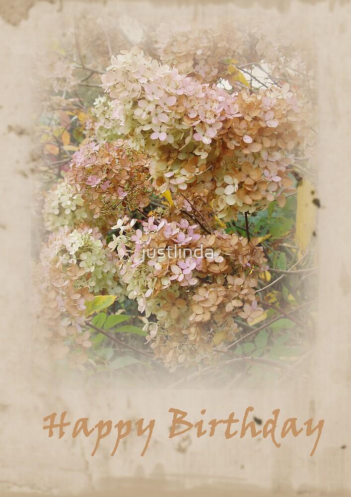 (Birthday Card 2) - Posy - by justlinda