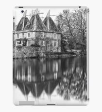 Kent Oast House black and white iPad Case/Skin
