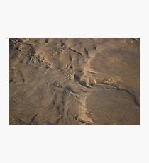 Nature Sand Sculpture Photographic Print