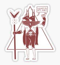 Space Hellhound ( Tuff Guy No.2 ) Sticker