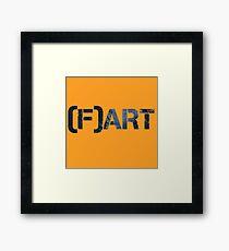 Art Fart Framed Print