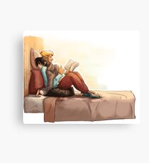 Afternoon Solangelo Canvas Print