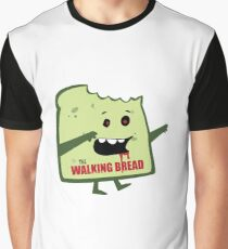 The Walking Bread Graphic T-Shirt