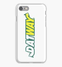 DATWAY hip hop trend iPhone Case/Skin