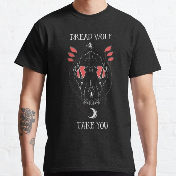 Lobo aterrador te lleva Camiseta clásica