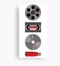 Video Transition Canvas Print