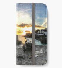 HARBOUR SUNSET, PORTHLEVEN iPhone Wallet/Case/Skin