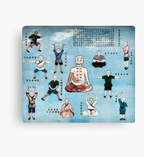Qi Gong wall mural in China art photo print Canvas Print