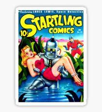 Robot Kidnap Sticker
