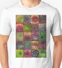 Sempervivum Collage T-Shirt