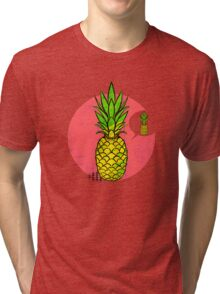 Conceited Pineapple Tri-blend T-Shirt