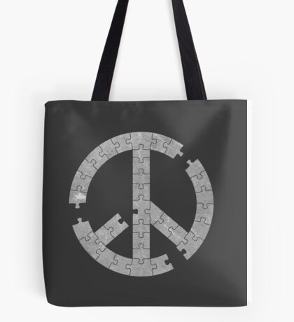 Puzzle Peace Tote Bag