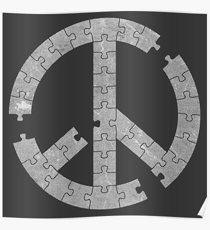 Puzzle Peace Poster