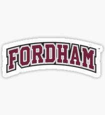 Fordham Sticker