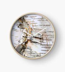Birch Beauty Clock
