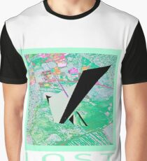 psychedelic maps Graphic T-Shirt