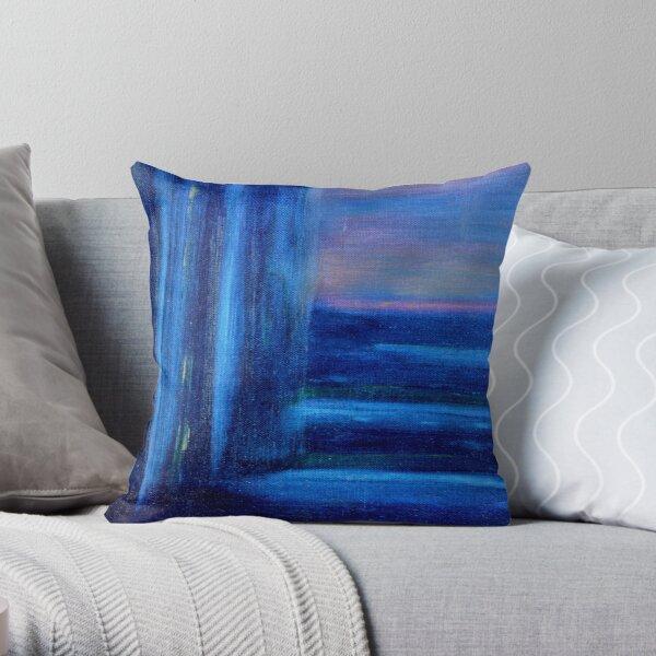 Pensive (Oils - 25 x 35cm) Throw Pillow