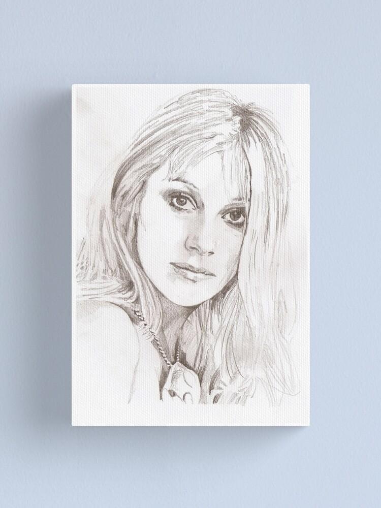 Alternate view of Helen Mirren Canvas Print