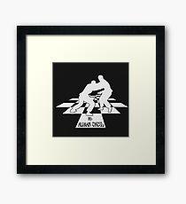 BJJ: Human Chess (BJJ / JIU JITSU / MMA) Framed Print