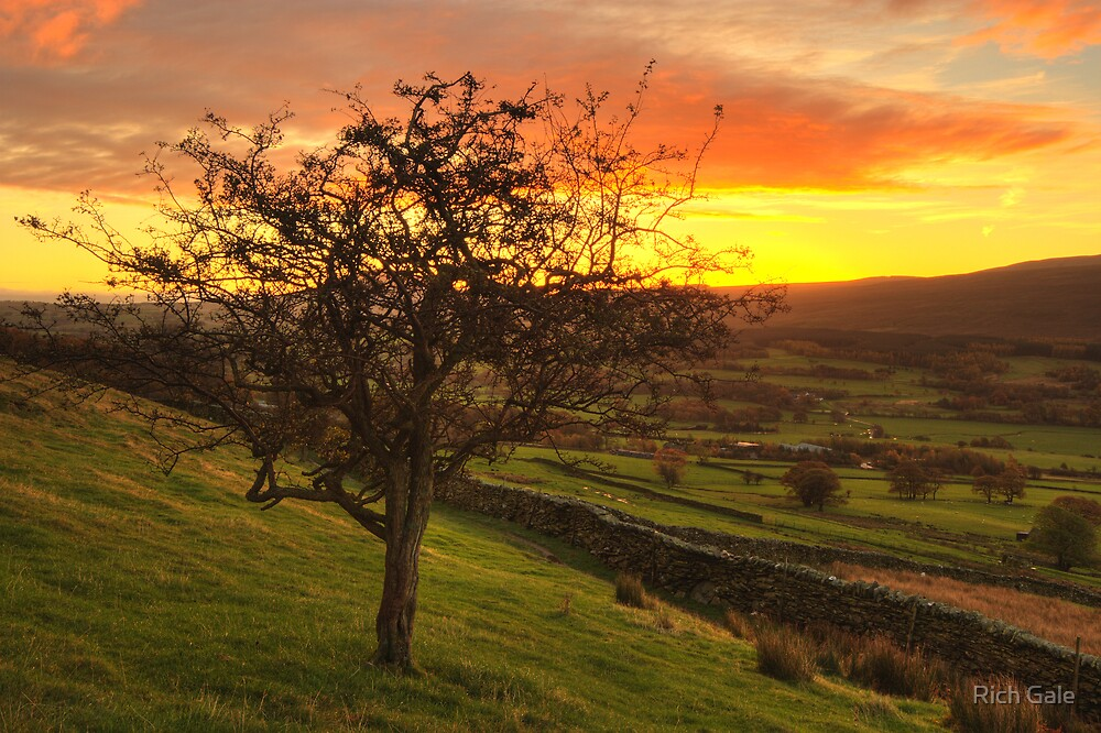 Sunrise above Threlkeld by Rich Gale