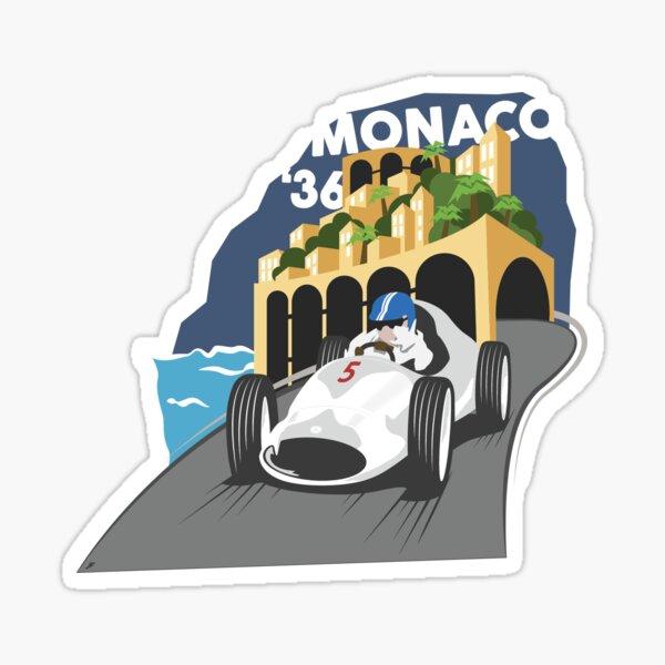 quand Monaco a séparé les garçons des hommes ... Sticker