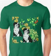 Springtime Pups Unisex T-Shirt