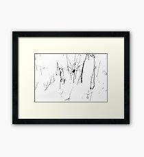Winter Twigs 2 High Contrast Framed Print