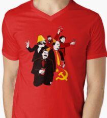 The Communist Party (variant) Men's V-Neck T-Shirt